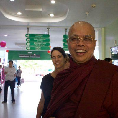 Day Nine – A visit from Ashin Say Kane-da