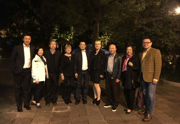Fundraising in Shanghai