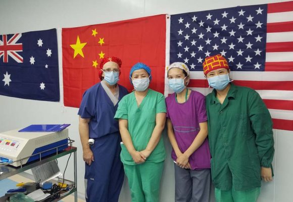 Our International Team in Zhaotong, China