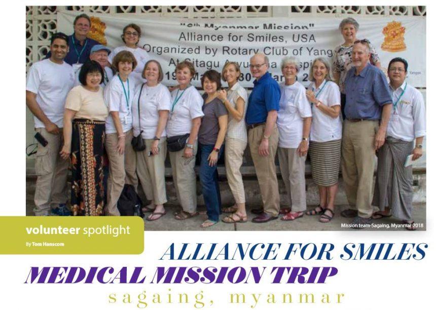 Volunteer Spotlight – Tom Hanscom in Myanmar