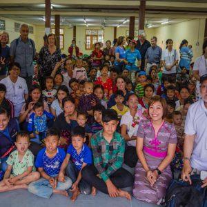 Arrival in Myitkyina, Myanmar