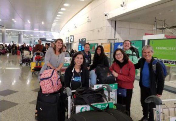 Team Arrives in Chuzhou, China