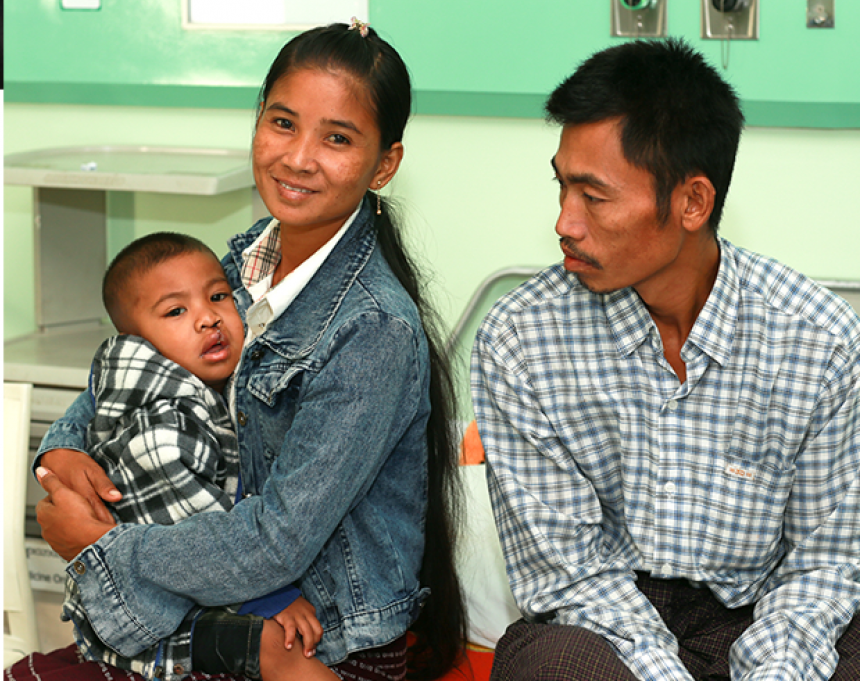 Meet with Bhone Myat and his family – Day 9