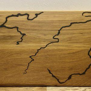 Custom white oak Cutting Board