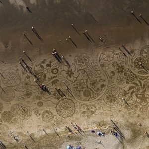 Earthscape Beach Art Experience in San Francisco for 2 people