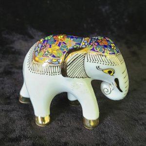 Porcelain Enamel Elephant