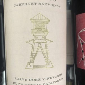 Jack Quinn, Agave Rose Vineyards, Cabernet Sauvignon, Rutherford 2016
