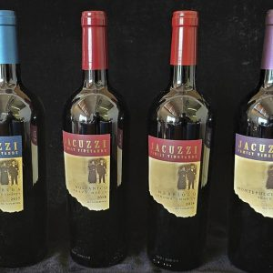 Jacuzzi Vineyards – 4 Pack of Red Wine