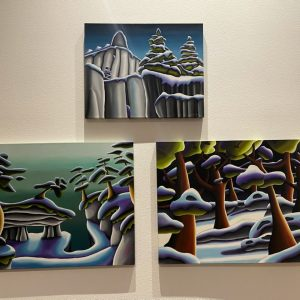 3 Oil Paintings by Brittani Faulkes