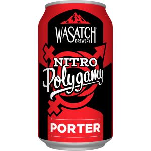 Wasatch Brewery Polygamy Nitro Porter – 6 pack #3
