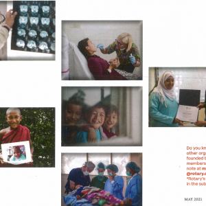 AfS Featured In Rotary Magazine!